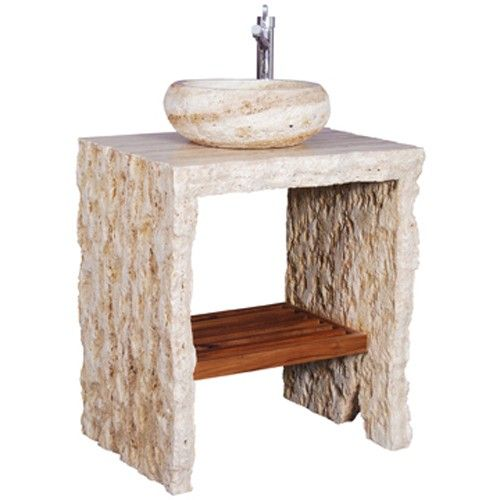(Limited Supply) Click Image Above: Ambella Home Palmyra Petite Vessel Vanity