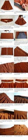 Cubic Dreams: Button Skirt Tutorial Photo by cubicdreams   Photobucket