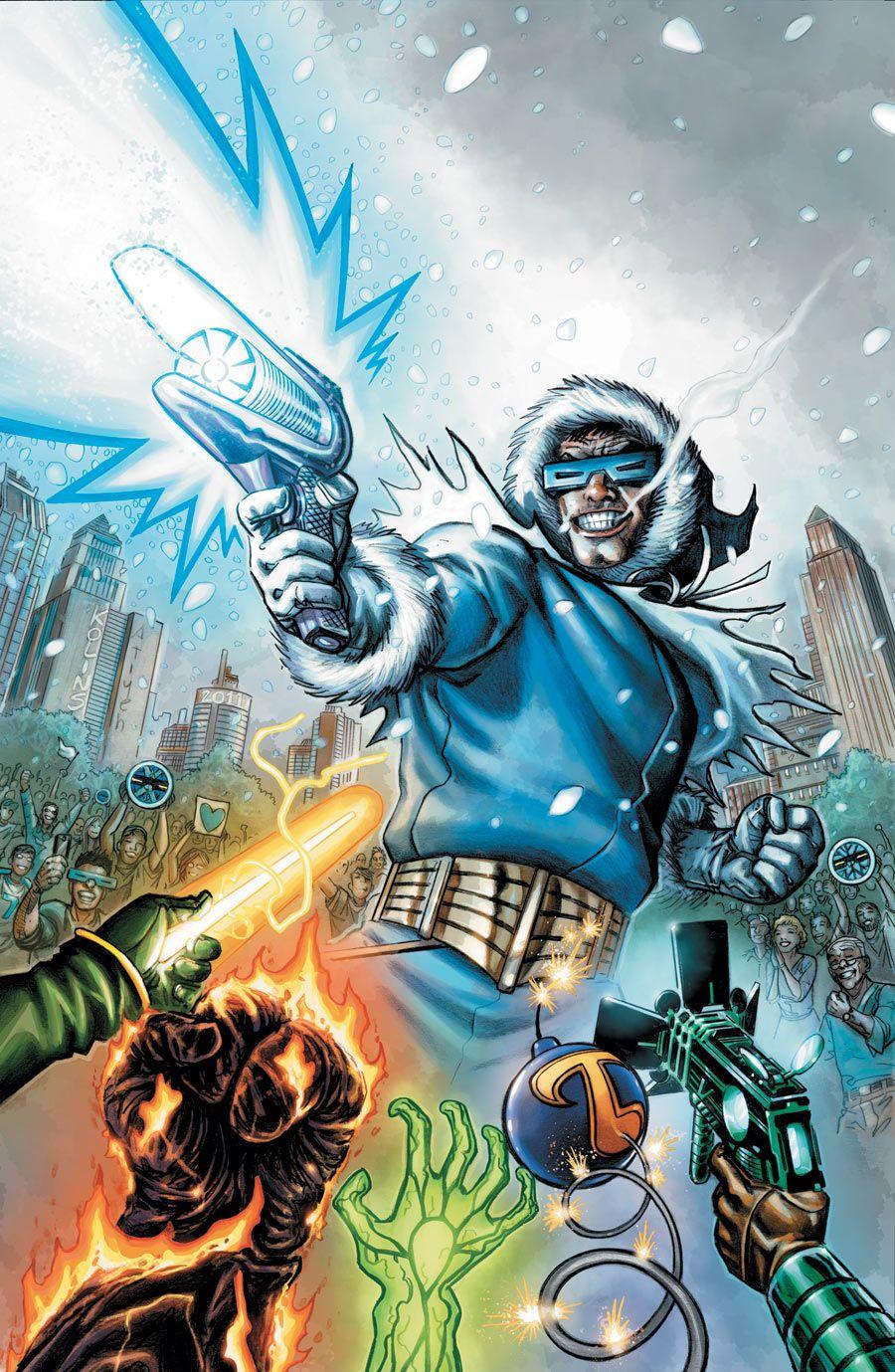 Flashpoint Citizen Cold 1 Scott Kolins K Comics Comic Villains Dc Villains