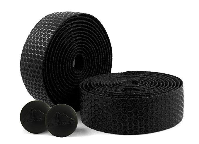 MARQUE Hex Grip Road Bike Handlebar Tape – 2PCS per set Black