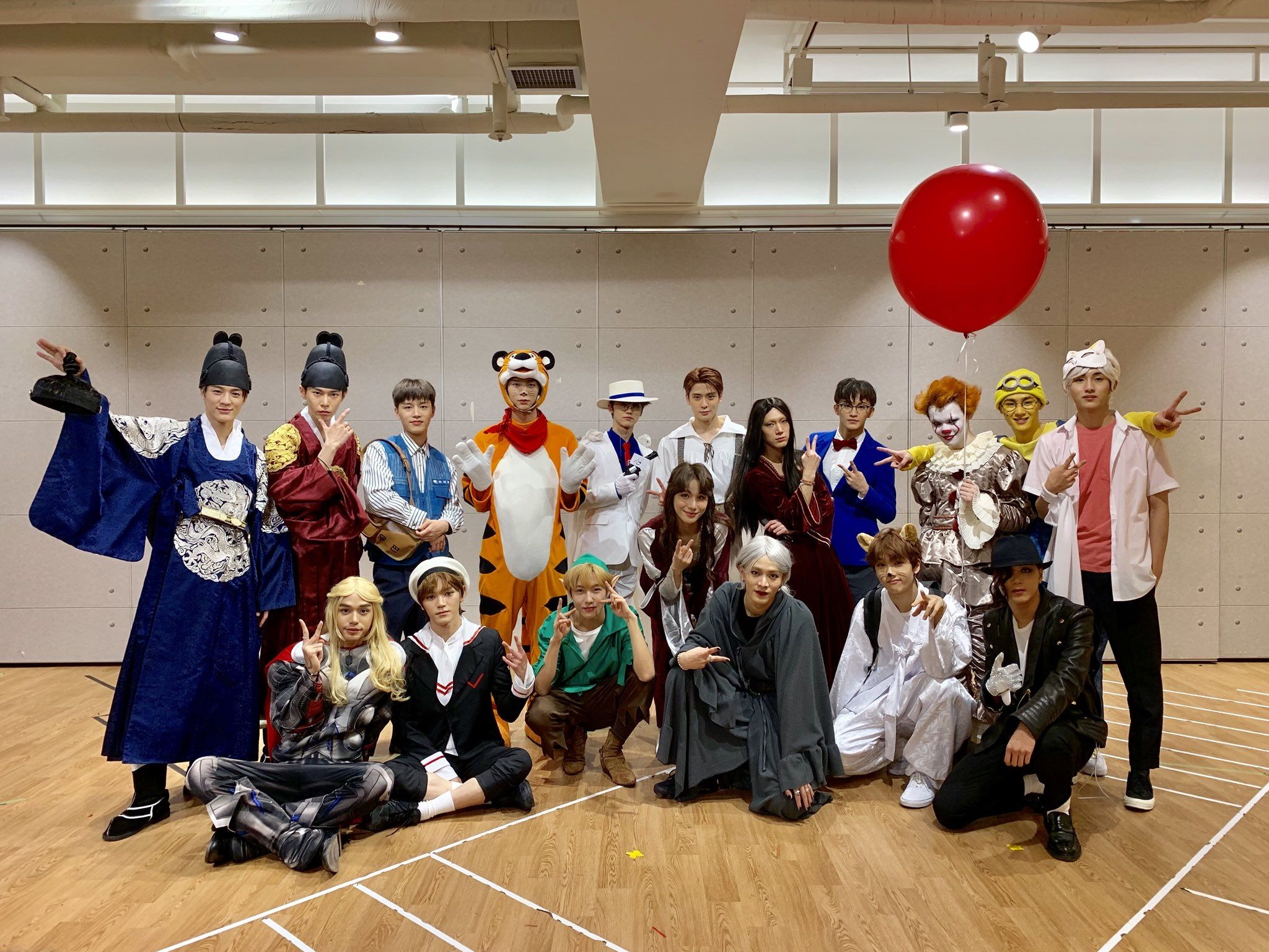 Nct 2020 Halloween 50 Gambar NCT Halloween 2018 terbaik di 2020 | nct, xiao