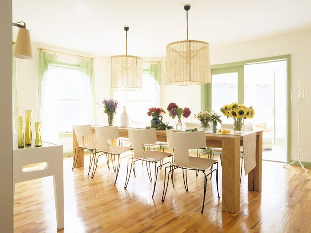 dining room decor ideas open air keeping a dining room uncluttered and placing the table - Open Dining Room
