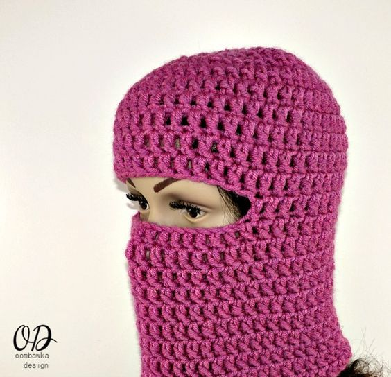 Warm Winter Ski Masks Free Pattern Crochet Pinterest Free