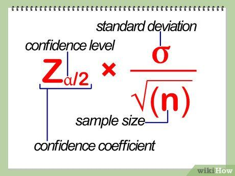 Calculate Confidence Interval Confidence Interval Math Methods