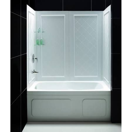 cheap easy shower surround google search ideas for the. Black Bedroom Furniture Sets. Home Design Ideas