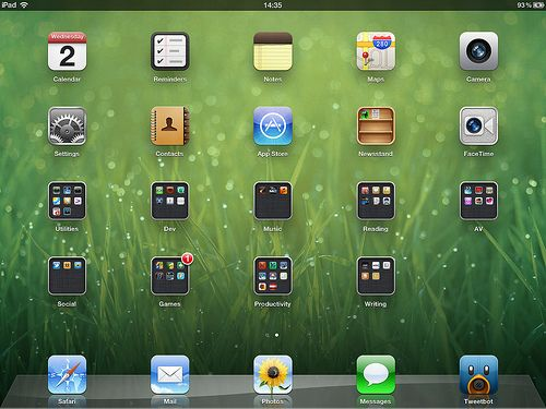 Home screen by Matt Gemmell, via Flickr (With images