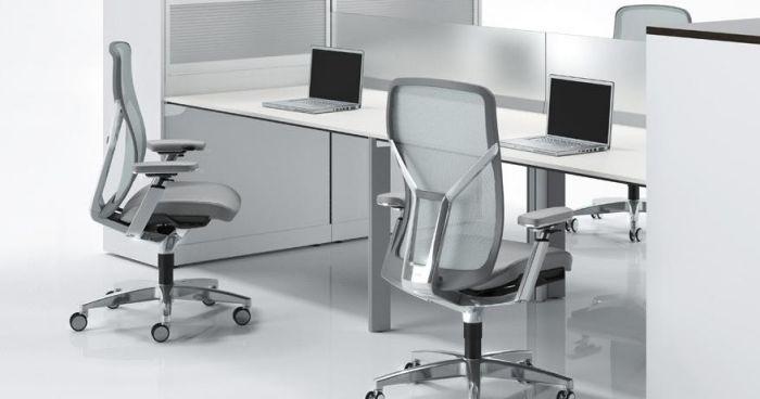 ergonomischer bürostuhl fördert gesunde körperhaltung | dies und, Möbel