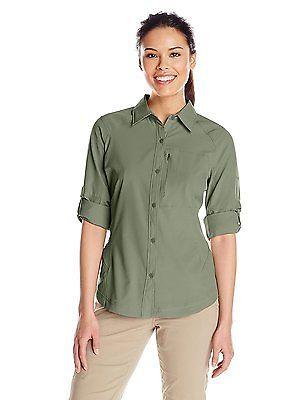 264c7c6f3e7 Small, Cypress, Columbia Women's Silver Ridge Long Sleeve Shirt ...