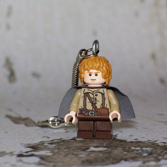 Samwise Gamgee LEGO key chain by boxhounds on Etsy, $12.00