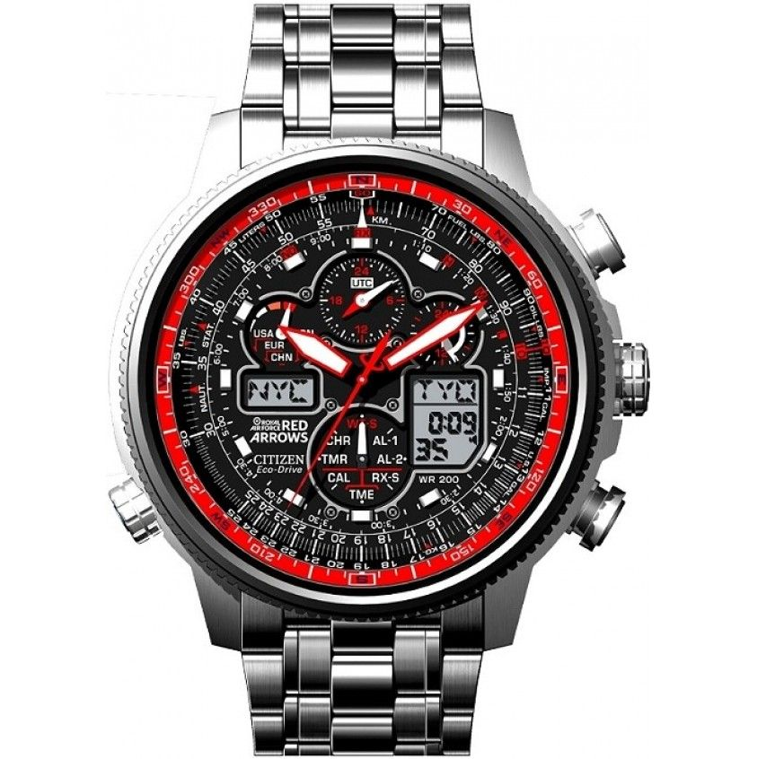 Citizen Navihawk Red Arrows Limited Edition Watch JY8040