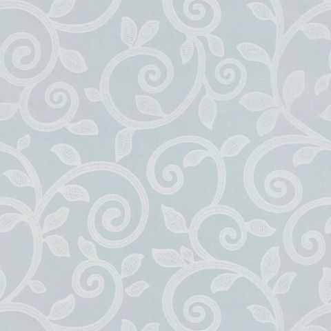 Pastel blue swirl design wallpaper. http://www.worldstores.co.uk/p/Soleil_Bleu_Annabelle_Wallpaper_in_Pale_Blue_8.5m_Roll.htm