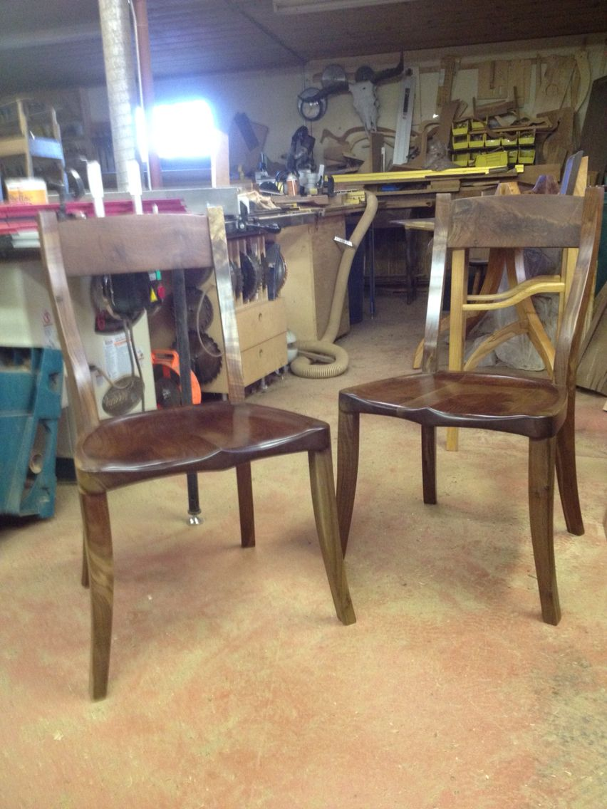 A simple modern style that shows off the amazing wood handmade furniture heirloom furniture chairs artisan furniture custom furniture green
