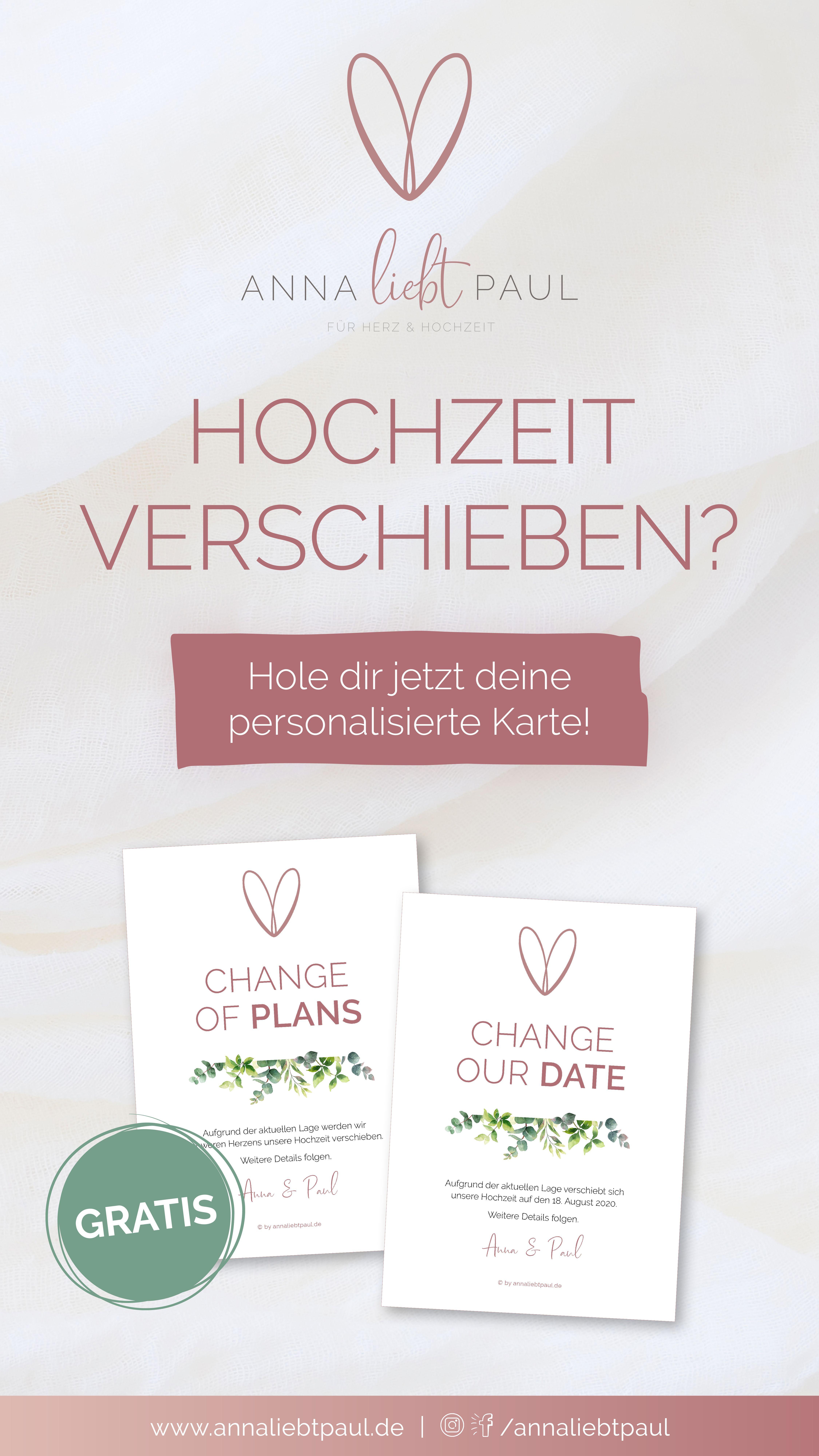 Change Our Date Plans Karte Herz Hochzeit Hochzeit Planer