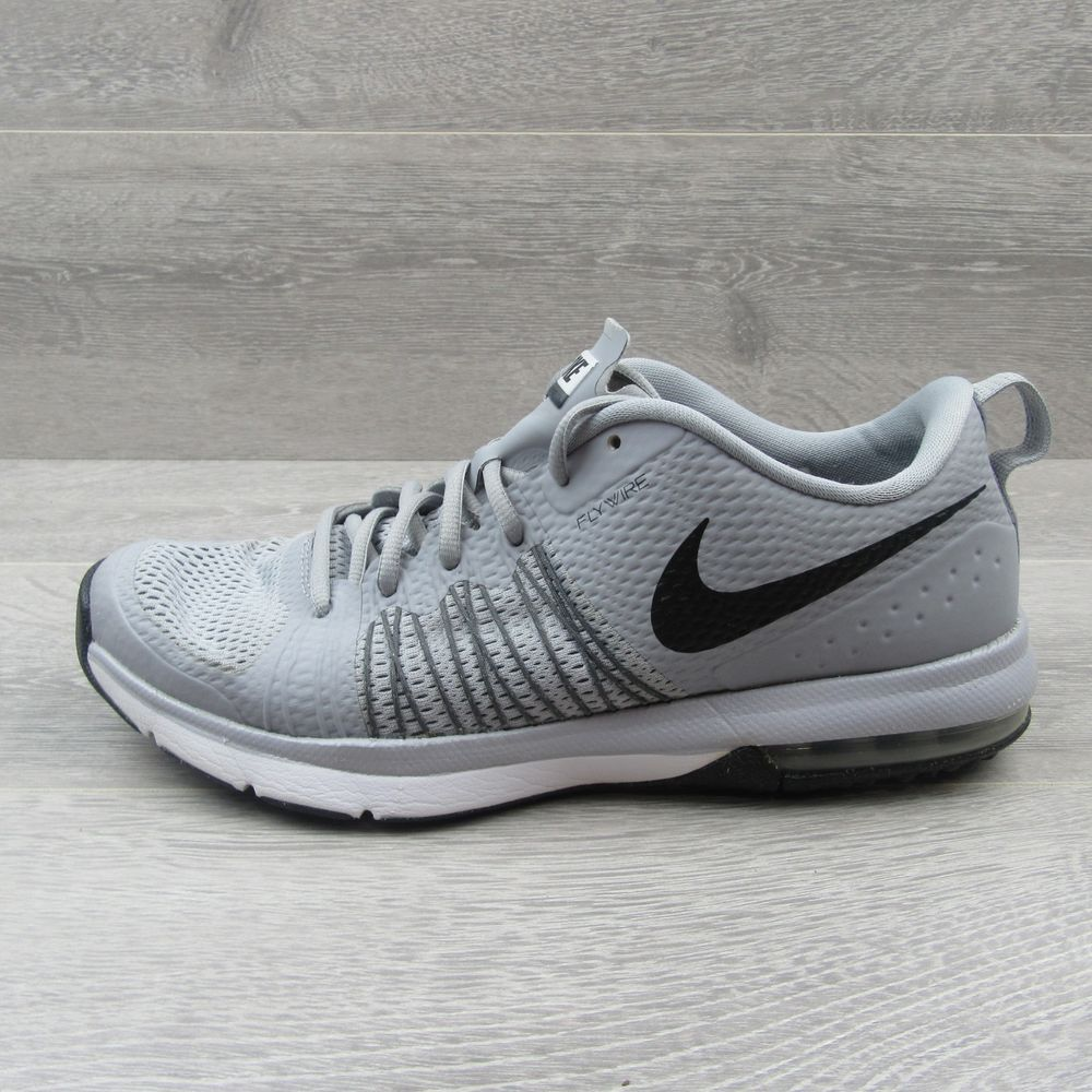 36dfc1a49cb1 Nike Air Max Effort TR Flywire Size 10 Mens Running Shoes Grey Black 705353  002  Nike  RunningShoes