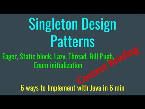 Singleton Design Pattern Implementations With Java In 2020