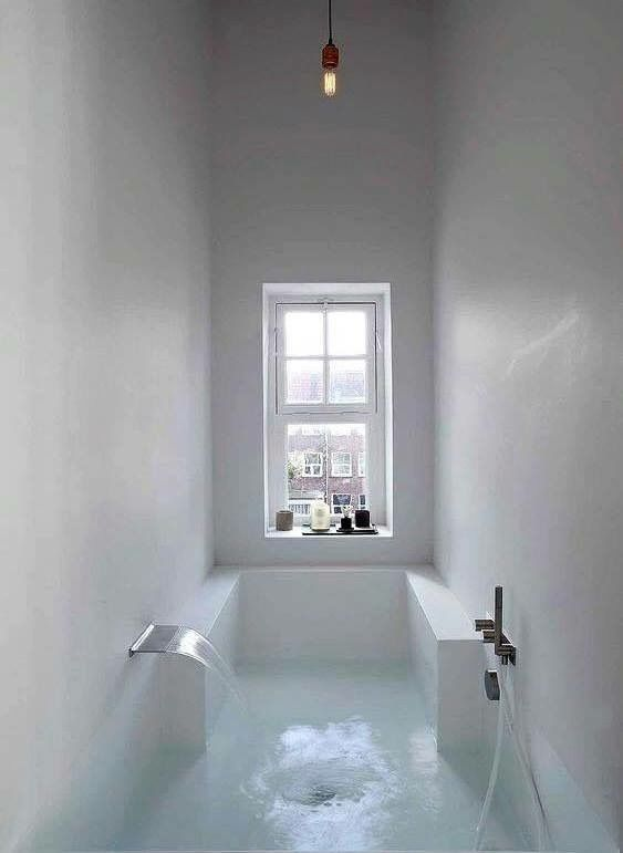 Tub That Is The Whole Room Bathroom Interior Design Minimalism Interior Bathroom Interior