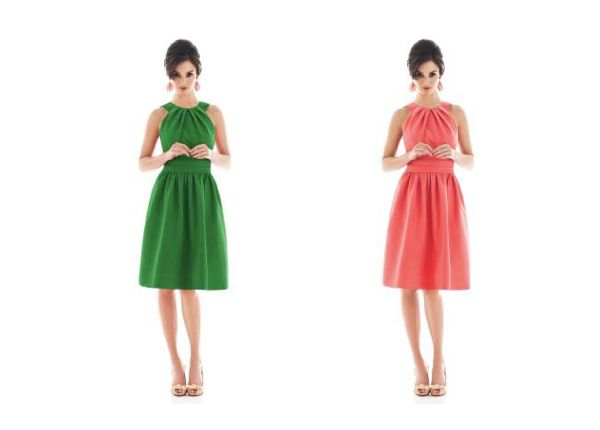 ab8d574aaa Colorful, Customizable Bridesmaid Dresses from Dessy | Wedding Ideas ...