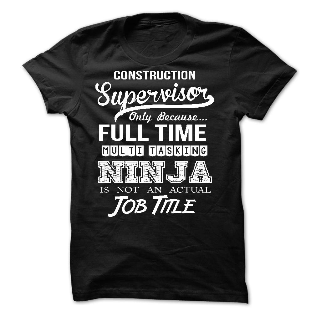 Construction Supervisor T-Shirts, Hoodies. CHECK PRICE ==► https://www.sunfrog.com/No-Category/Construction-Supervisor-60868734-Guys.html?id=41382