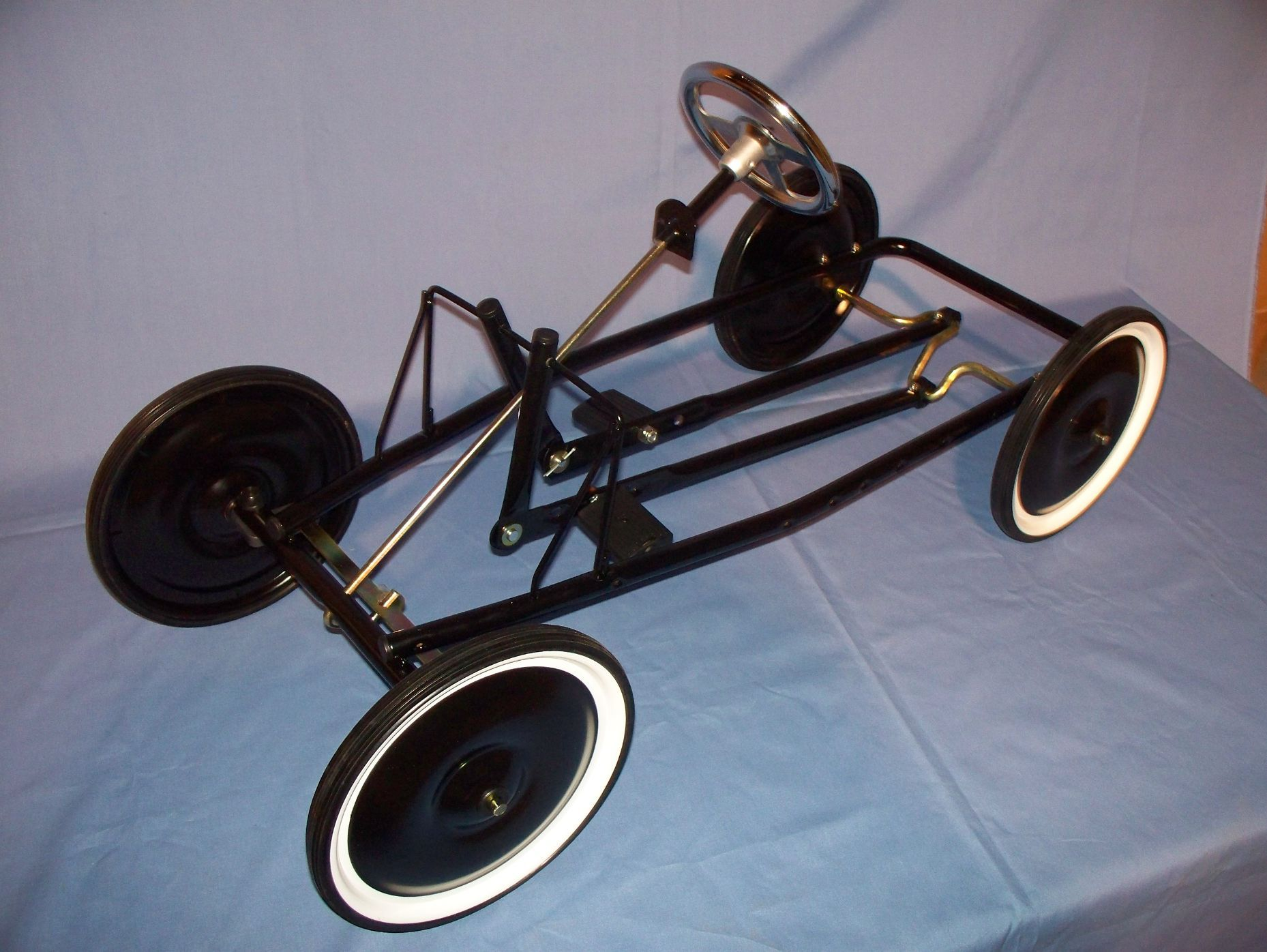 cn pedal car kit information chassis info building tips