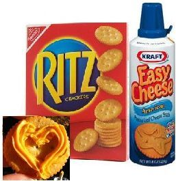 The ultimate road trip food make art on ritz crackers w kraft easy the ultimate road trip food make art on ritz crackers w kraft easy cheese solutioingenieria Images