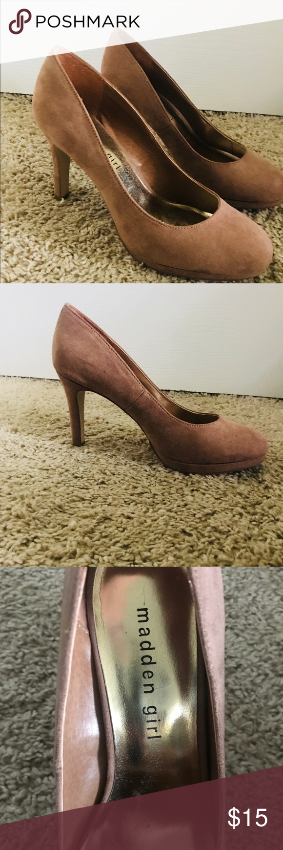 f43a1898cf0 Madden Girl Women s Dark Nude Dress Pumps size 6.5 Madden Girl - Women s  Dolce Dress Pump