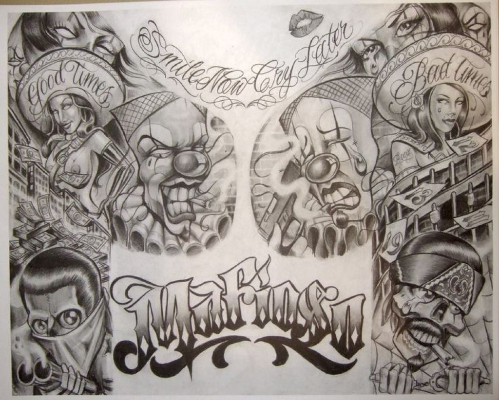 Boog Tattoo Flash Prisongangster Art My Type Of Art For Boog Tattoo Artist Chicano Art Tattoos Chicano Art Chicano Drawings