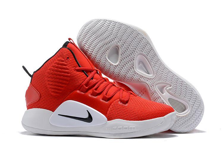 b431d2e1b9b0 2018 Nike Hyperdunk X University Red Black-White AR0467-600 Free Shipping