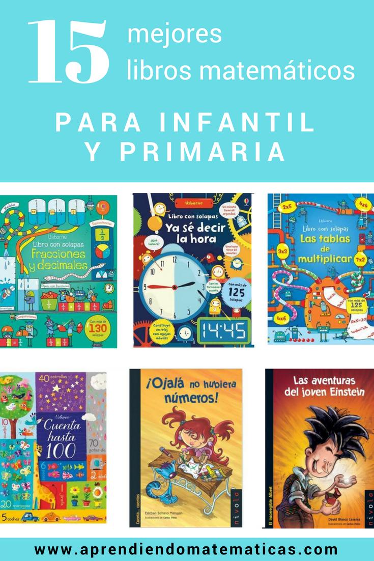 Los 15 mejores libros de matemáticas para infantil y primaria - AM ...
