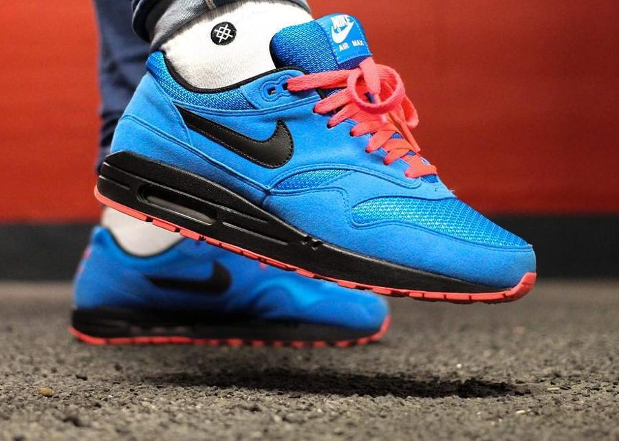 competitive price 4a019 030a6 Basket Nike Air Max 1 ID Essential Photo Blue (1)