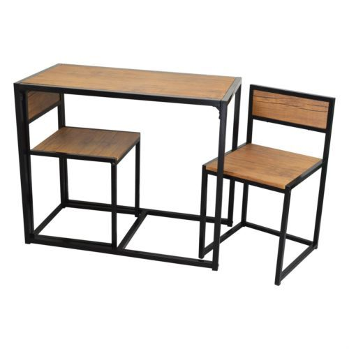 Compact 2 Seater Kitchen Dining Table And Chairs E