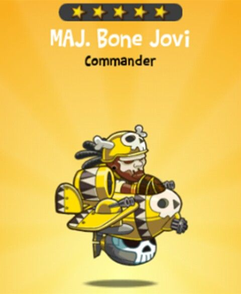 Maj. Bone Jovi {video}