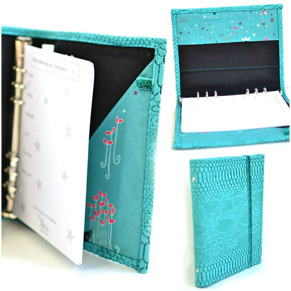 A5 Personal Planner, A5 Organizer, Elastic Closure