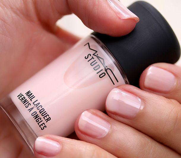 MAC Studio Nail Lacquer in Delicate | SS 14 cosmetics | Pinterest ...