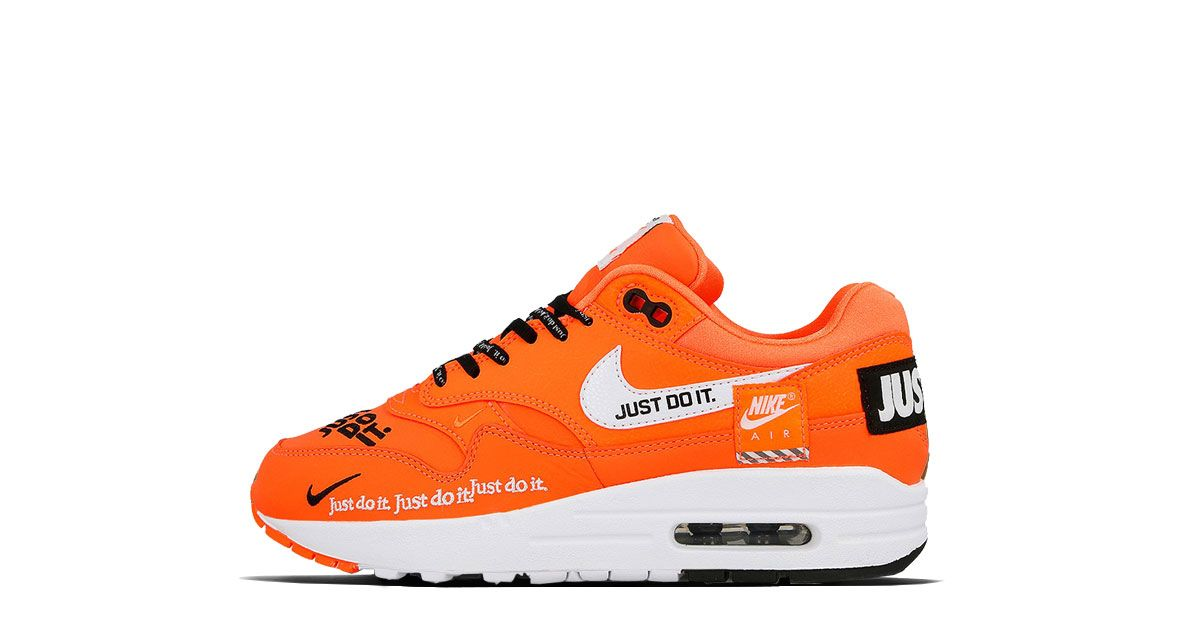 Nike WMNS Air Max 1 Lux Just Do It Orange 917691 800