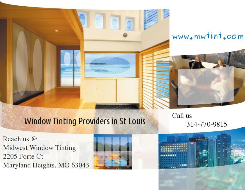 Window Tinting Providers In St Louis Http Www Mwtint Com Home