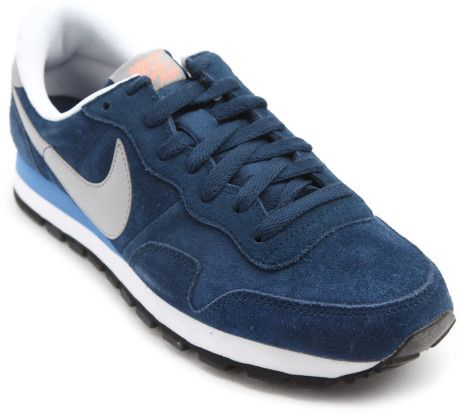 5394f6d3d2 blue suede nikes for women | Nike Pegasus 83 Navy Suede Sneakers in Blue  for Men (navy)