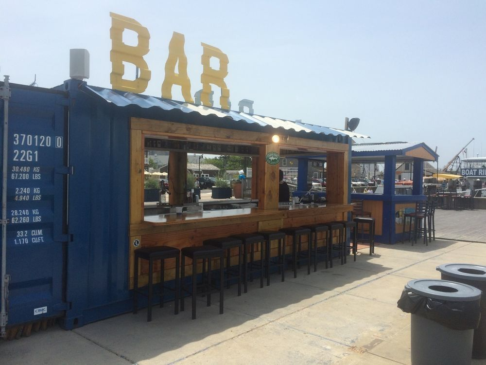 20 ft cargo shipping container surf bar bar ideas pinterest container container h user. Black Bedroom Furniture Sets. Home Design Ideas