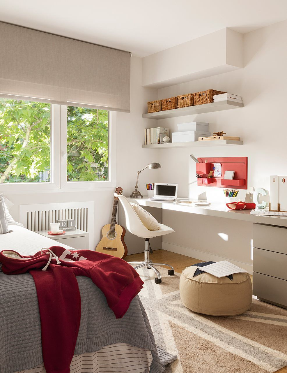 En 2019 cool ideas muebles dormitorio for Cortinas habitacion juvenil
