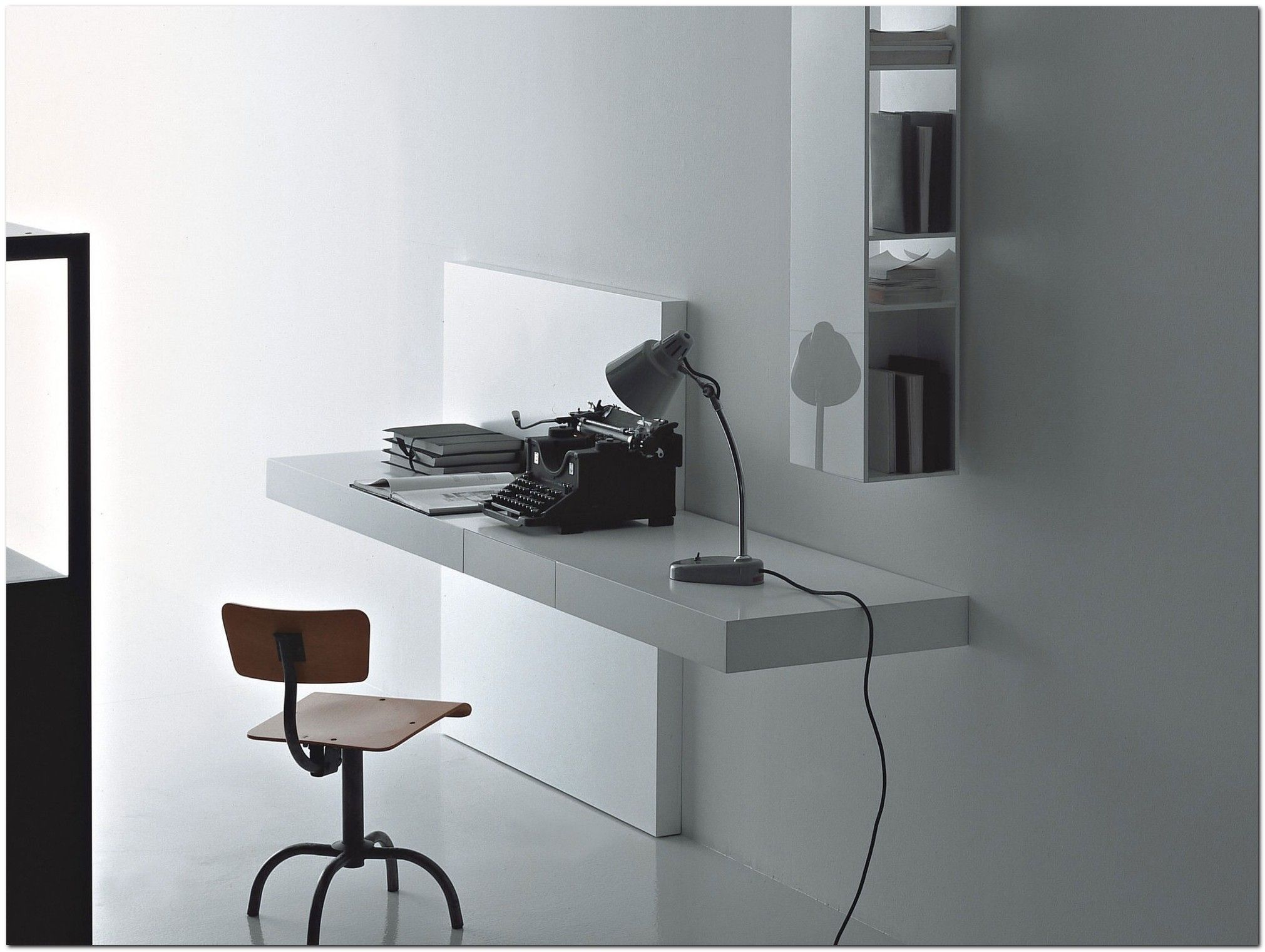 100 Modern Wall Mounted Desk Ideas The Urban Interior Wall Mounted Desk Ikea Wall Mounted Desk Modern Secretary Desk