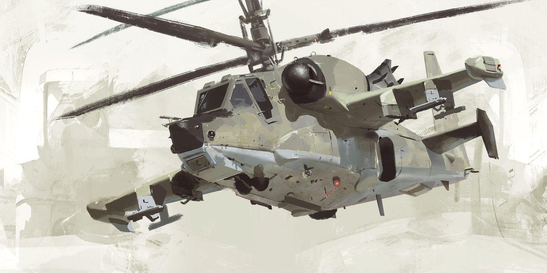 Ka-50 & 51, Joe Gloria on ArtStation at https://www.artstation.com/artwork/G2DBN