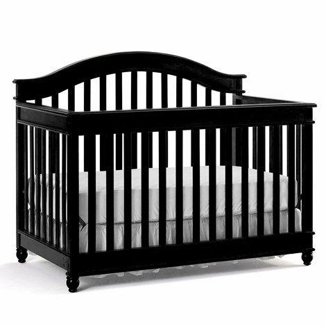 Palisades Crib - Licorice | Baby room ideas | Pinterest