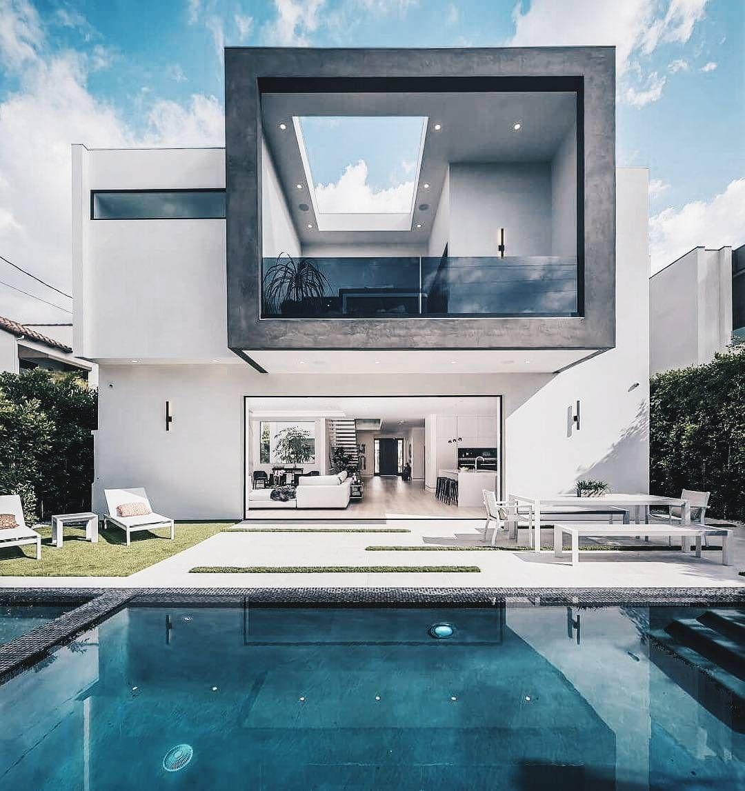 Pin von Felix auf Haus | Pinterest | Moderne villa, Traumhäuser und ...