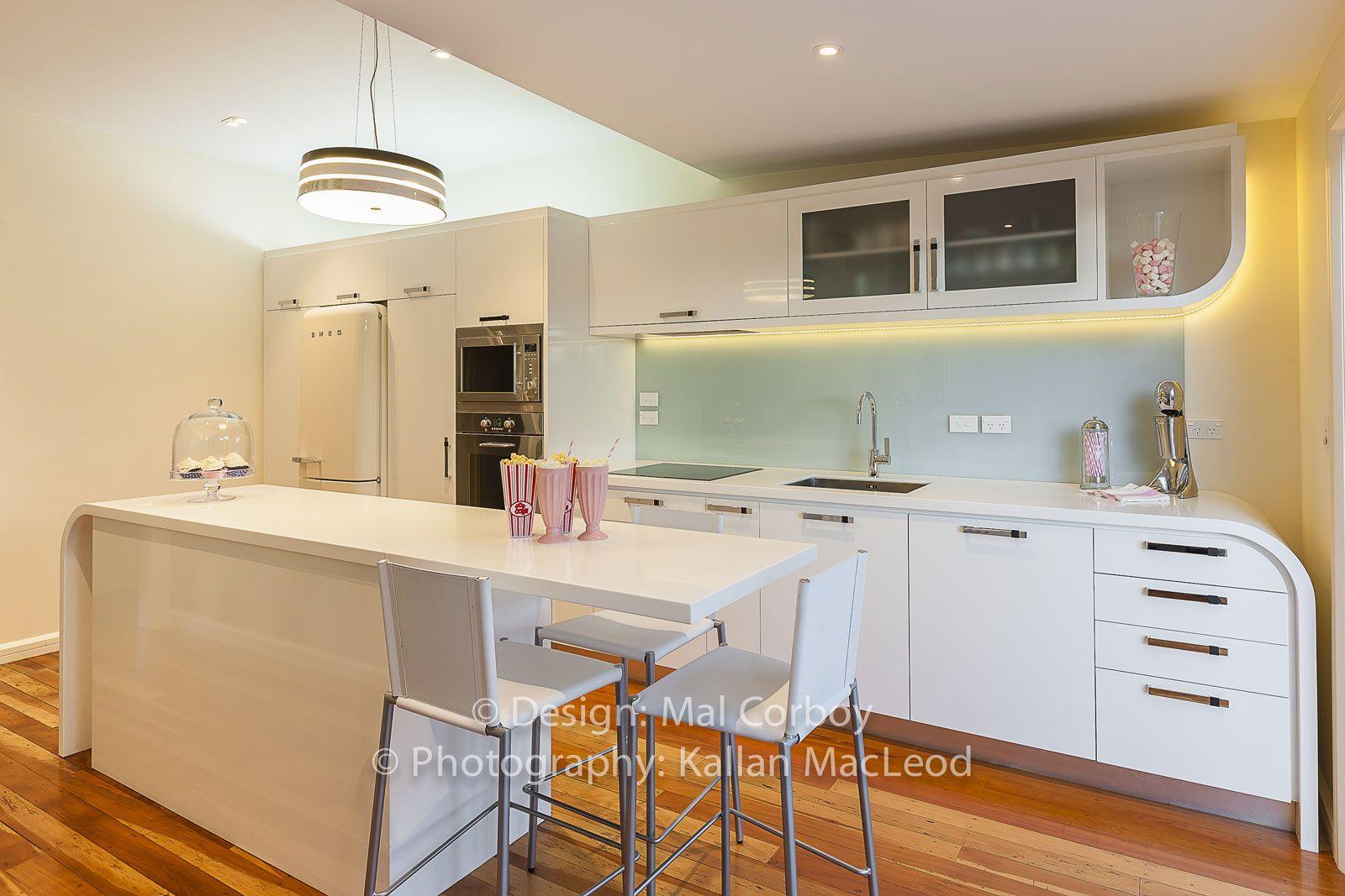 Art Deco Renovation contemporary Kitchen