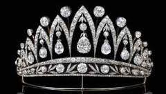 It's Faberge-- made with diamonds that belonged to Josephine Bonaparte.