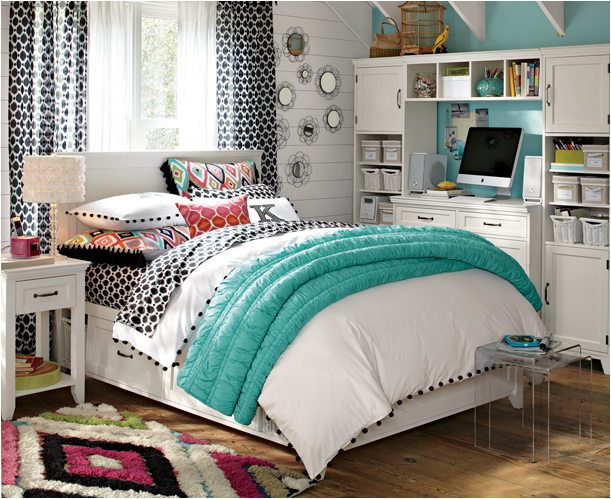 16 splendid teen bedroom decoration ideas teen bedrooms for Older girls bedroom designs