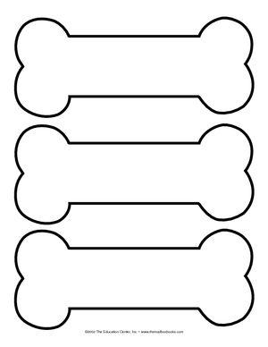Dog Bone Template Printable Google Search Paw Patrol Party Paw Party Paw Patrol Birthday Party