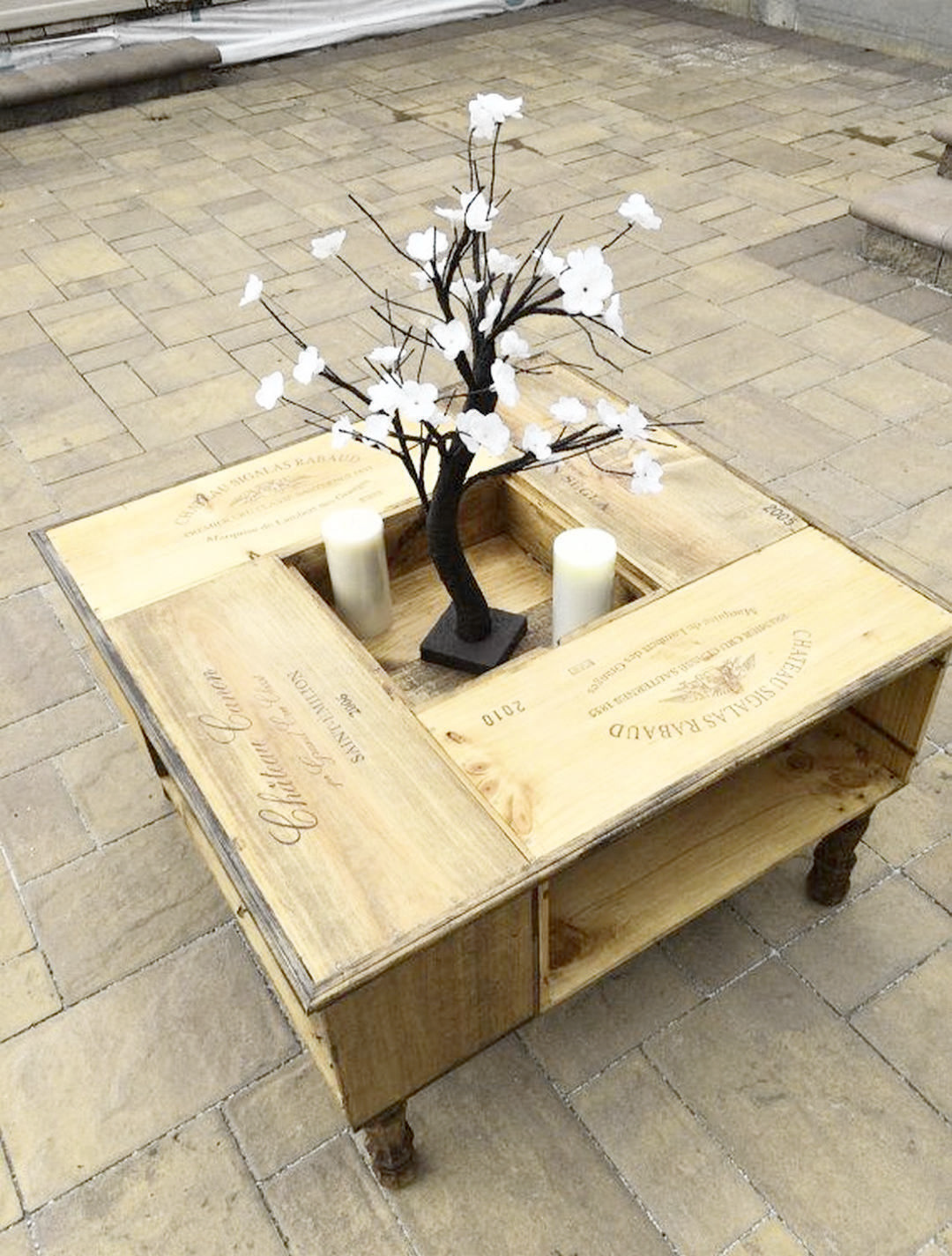 Bush Business Furniture Series A 36w Desk The Furniture Blogger Crate Coffee Table Coffee Table Vintage Wood Table Diy