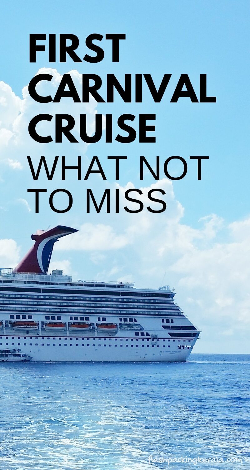 Tips For First Time Carnival Cruise :: Caribbean Cruises