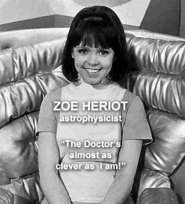 Zoe Heriot (Wendy Padbury) — Second Doctor | Wendy Padbury ...