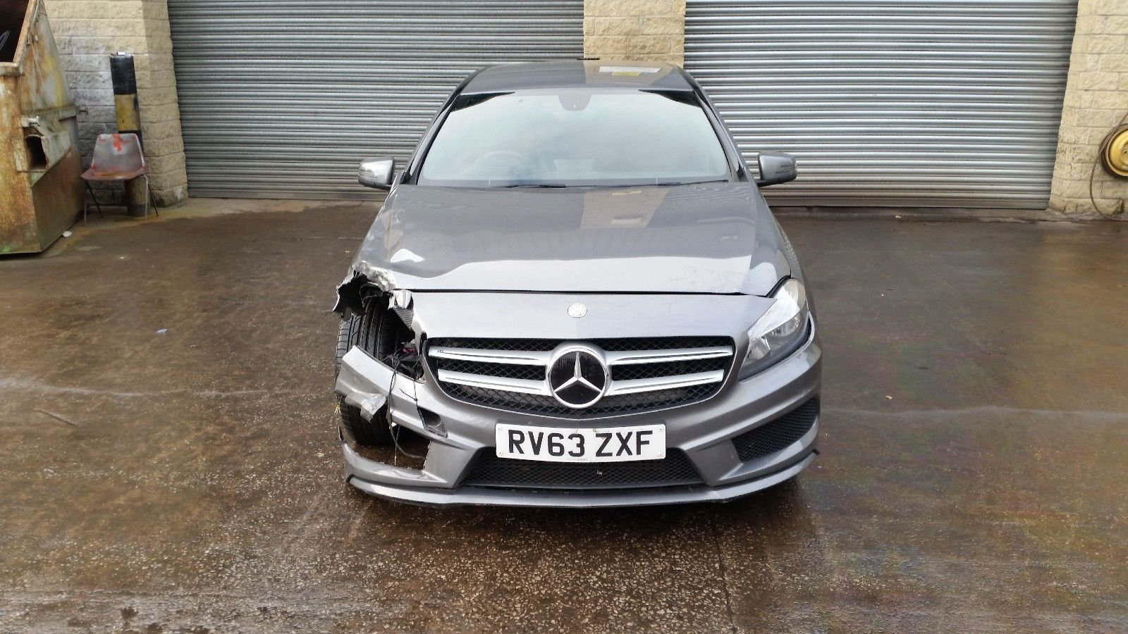 Ebay Mercedes Benz 1 8 Cdi A200 Amg Sport Blue Efficency Repairable